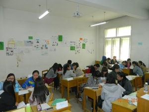 TESL Students in Group Work
