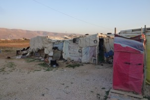 The harsh realities of life for the displaced of Syria